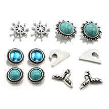 Beach Chika Stud Earrings Set - $14.99