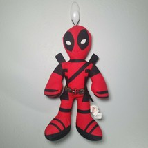 "Deadpool Marvel Plush Toy 14"" Tall Stuffed Toy Red Black - $12.99"