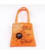 Halloween Fabric Gifts Bag Non Woven Pumpkin Trick Treat Candy Loot Part... - $6.99