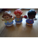 Fisher Price Little People Set of 3 1990's - $4.99