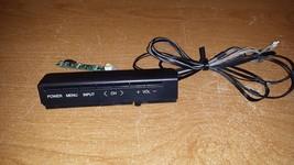 Sharp LC-60LE600U - Keyboard & IR Sensor w/cable (DUNTKF800FM53 & DUNTKG... - $22.76