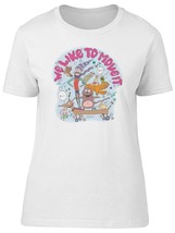 An item in the Fashion category: We Like To Move It. Doodles Women's Tee -Image by Shutterstock