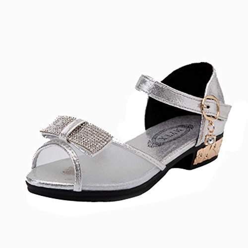 Shoes Female Shoes Bow Mesh Sandals Toe Rhinestone Little Princess Summer