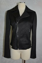 Elie Tahari Women's Mae Tweed Motorcycle Jacket  Size M  NWD - $88.20