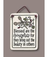 Spooner Creek Mini Hanging Plaque Blessed are the Hairstylists - $9.29