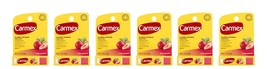 Carmex Classic Strawberry Lip Balm - Lot of 6 - SPF Exp. 9-18 - $6.98