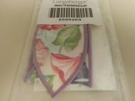 Longaberger Basket Handle Tie Only Medium Size Morning Glory Fabric New - $10.84
