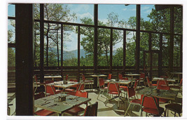 Crabtree Meadows Coffee Shop Blue Ridge NC postcard - $3.96