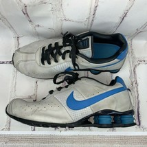 Nike mens Shox Running Shoes Sneakers 12 Blue Gray Vintage VGC - $55.00
