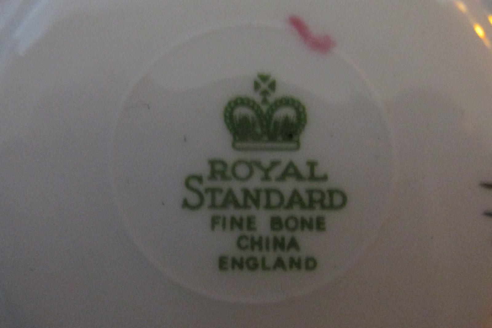 Vintage Paisley Chintz Cup & Saucer - Royal Standard English Bone China, 1950s