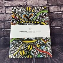 Starbucks Laolu Senbanjo Coffee Stories Set Of 3 Ruled 50 Page Notebooks - $15.83