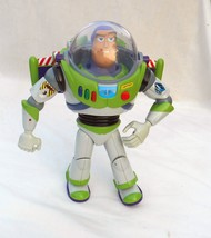 BUZZ LIGHTYEAR Talking Action Figure Thinkway  -12 inch working Toy Story - $20.00