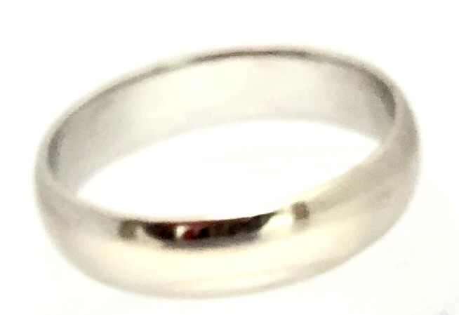 Primary image for  Men's 10kt White Gold Wedding band