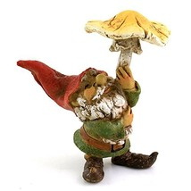 Top Collection Miniature Fairy Garden and Terrarium Garden Gnome Using M... - $18.66
