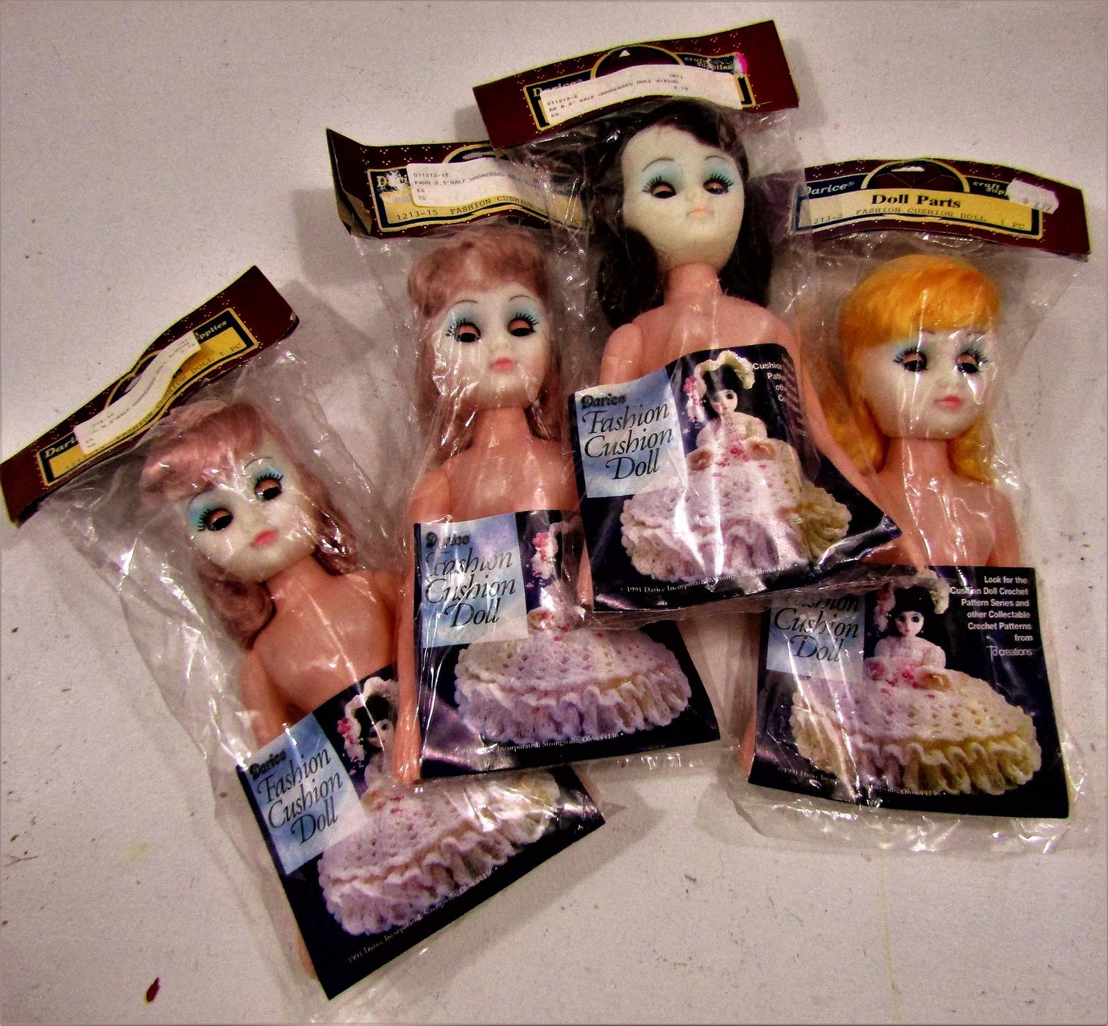 Cushion dolls