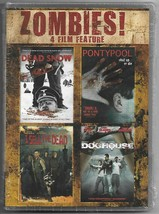 Zombies! 4 Film Feature Tot Schnee I Sell The Dead Doghouse DVD Komplett... - $19.66
