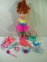"DISNEY JUNIOR FANCY NANCY CLASSIC 10"" DOLL FIGURE SHOES ACCESSORIES JAKKS - $19.55"