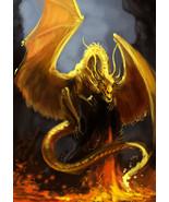 Haunted Golden Dragon Ring Guardian Power Energy Healing Love Money Wisd... - $195.00