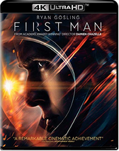 First Man [4K Ultra HD + Blu-ray]