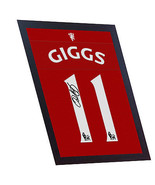 Ryan Giggs Manchester United signed printed on CANVAS 100% Cotton Framed - $21.45