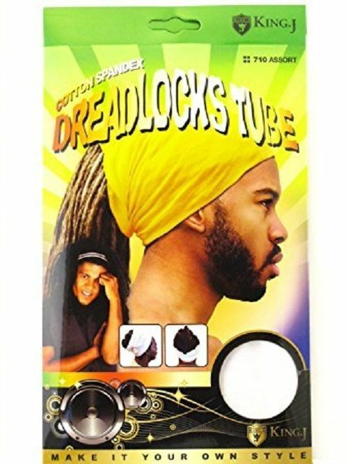 Primary image for King J Cotton Spandex Dreadlocks Ultra Stretch Cover Loc Hair #710 Assort Colors