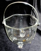 Ice Bucket Fostoria Crystal Coronet Pattern Vintage Elegant Glass Clear - $39.60