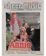 Sheet Music Magazine June/July 1982 Standard Piano/Guitar - $3.99