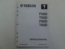 2005 Yamaha Outboards F50D T50D F60D T60D Service Repair Shop Manual  - $89.09