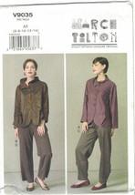 Vogue 9035 Marcy Tilton Artsy Jacket & Pants Pattern Misses Size 6 8 10 ... - $14.69