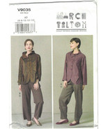 Vogue 9035 Marcy Tilton Artsy Jacket & Pants Pattern Misses Size 6 8 10 ... - $14.69