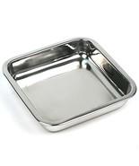 Happy Sales HSSSP-SQ1, 8 Inch Stainless Steel Cake Pan, Square - $13.61