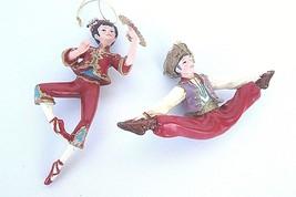 Lot 2 Kurt Adler International Dancers Nutcracker Suite Girl with Fan Bo... - $19.79