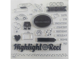 Close to My Heart Highlight Reel Clear Stamp Set #S1807