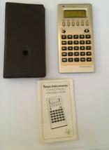 Vintage Texas Instruments DataChron TI Calculator Alarm Clock Stopwatch ... - $34.99