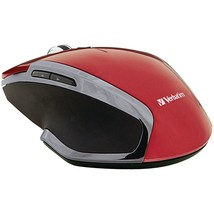 Verbatim Wireless Notebook 6-button Deluxe Blue Led Mouse (red) VTM99018 - $33.77