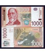 UNC Serbia Banknote 1000 Dinara Dinar Dinars 2006