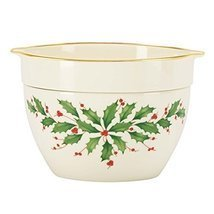 Lenox Holiday Cold Dip Bowl by Lenox - £31.01 GBP