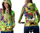 Hallucinate dexter dmt psychedelic hoodie zipper for women thumb155 crop