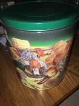 Duck Green Cookie Tin Jar - $13.58