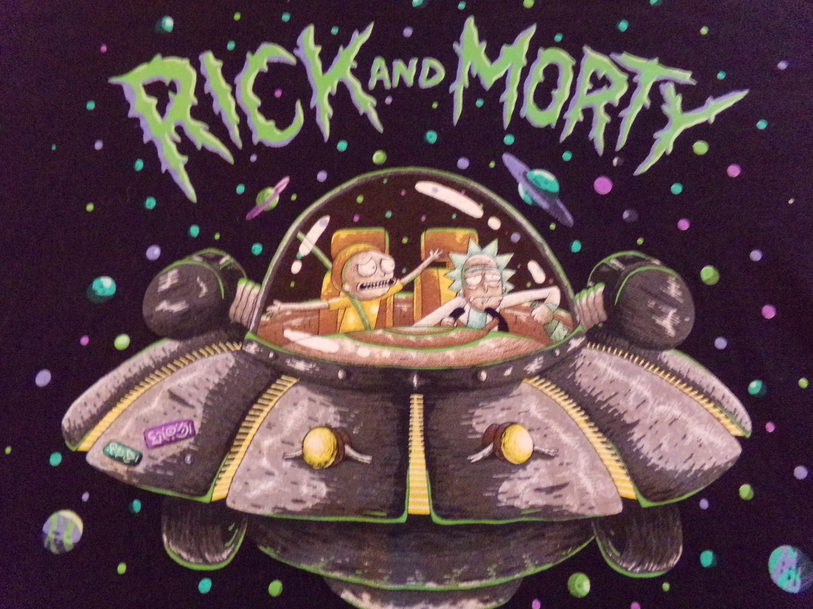 Rick & Morty, EXCELLENT CONDITION, Medium Men's T-Shirt