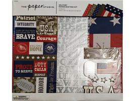 The Paper Studio Baby Girl Papercrafting Kit, Scrapbooking #1865468