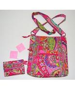NEW VERA BRADLEY Pink Swirls SET Hipster Cross ... - $56.99