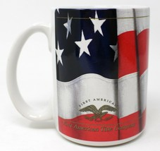 First American Title Company Flag Eagle Large Coffee Mug Cup - $18.69