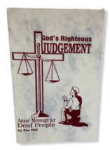 God's Righteous Judgement Amos' Message for Deaf People Sue Hill Bible L... - $9.89