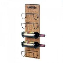 Rustic Wine Sign Bottle Holder - $49.95