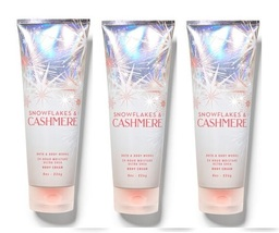 Bath & Body Works Snowflakes & Cashmere Ultra Shea Body Cream - 3 Pack - $49.99