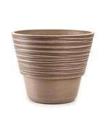 Darice Taupe Plastic Planter: 8.25 x 10 inches  w - $16.99