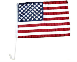 "USA American US Window Door 17"" x 12"" Car Flag Country Soccer Pride Banner - $6.99"