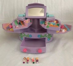 Vintage 1991 Bluebird Polly Pocket Pullout Playhouse Purple Jewelry Box ... - $54.45