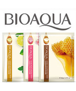 BIOAQUA It's Real Squeeze Refreshing Herbal Natural Mask Sheet Collagen ... - $3.60+